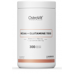 OstroVit BCAA + Glutamine 1100 mg L-Glutamine Amino Acids Post Workout & Recovery