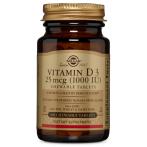 Solgar Vitamin D3 1000 IU 25 mcg Chewable