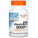 Doctor's Best Vitamin D3 125 mcg (5000 IU)