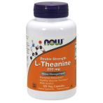 Now Foods L-Theanine  200 mg L-Teanīns Aminoskābes