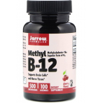 Jarrow Formulas Methyl B12 500mcg Cherry flavour