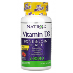 Natrol Vitamin D3  5000 iu Strawberry