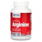 Jarrow Formulas Arginine 1000 mg Slāpekļa Oksīda Pastiprinātāji L-Arginīns Aminoskābes Pirms Treniņa Un Еnerģētiķi