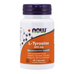 Now Foods L-Tyrosine 500 mg L-Тирозин Аминокислоты