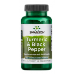 Swanson Turmeric & Black Pepper