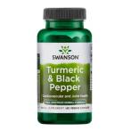 Swanson Turmeric & Black Pepper