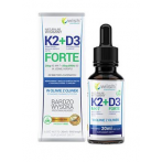 WISH Pharmaceutical Vitamin K2 MK7 + D3 Forte