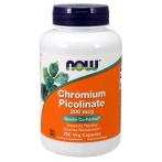 Now Foods Chromium Picolinate 200 mcg Svara Kontrole