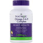 Natrol Omega 3-6-9 Complex Lemon 1200 mg
