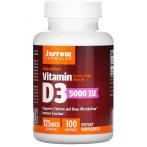 Jarrow Formulas Vitamin D3 Cholecalciferol 125 mcg 5000 iu