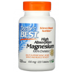 Doctor's Best High Absorption Magnesium 100% Chelated with Albion Minerals 100 mg