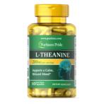 Puritan's Pride L-Theanine 200 mg Amino Acids