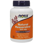 Now Foods Natural Resveratrol 200 mg