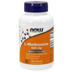 Now Foods L-Methionine 500 mg Aminoskābes