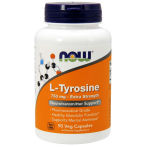 Now Foods L-Tyrosine 750 mg L-Тирозин Аминокислоты