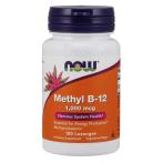 Now Foods Methyl B-12 1000 mcg