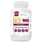 WISH Pharmaceutical Vitamin K2 MK-7 Natto 100 mcg