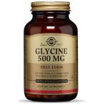 Solgar Glycine 500 mg L-Glicīns Aminoskābes