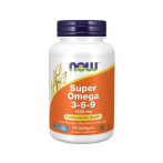 Now Foods Super Omega 3-6-9 1200 mg