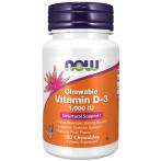 Now Foods Vitamin D-3 1000 IU Chewables