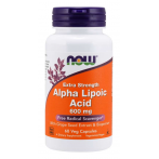 Now Foods Alpha Lipoic Acid 600 mg Контроль Веса