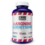 UNS L-Arginine & L-Ornithine Nitric Oxide Boosters Amino Acids