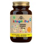 Solgar Kangavites Natural Orange Burst Vitamin C 100 mg