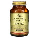Solgar Vitamin B1 500 mg