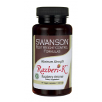 Swanson Maximum Strength Razberi-K 500 mg Raspberry Ketones Weight Management
