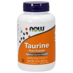 Now Foods Taurine Pure Powder L-Taurīns Aminoskābes