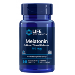 Life Extension Melatonin 6 Hour Timed Release 750 mcg