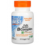 Doctor's Best Fully Active B Complex with Quatrefolic