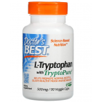 Doctor's Best L-Tryptophan with TryptoPure 500 mg L-Triptofāns Aminoskābes