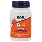 Now Foods Vitamin B-6 50 mg