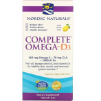 Nordic Naturals Complete Omega-D3 1000 mg Lemon