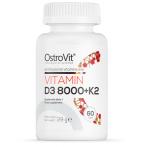 OstroVit Vitamin D3 8000 IU +  Vitamin K2