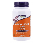 Now Foods Alpha Lipoic Acid 100 mg Контроль Веса