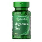 Puritan's Pride Magnesium with Zinc