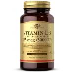 Solgar Vitamin D3 125 mcg (5000 iu)