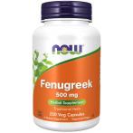 Now Foods Fenugreek 500 mg