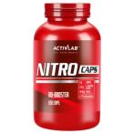 Activlab Nitro Caps L-Arginine Nitric Oxide Boosters L-Citrulline Pre Workout & Energy
