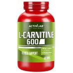 Activlab L-Carnitine 600 L-Karnitīns Svara Kontrole
