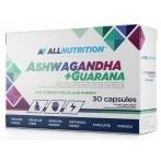 AllNutrition Ashwagandha + Guarana Гуарана Пeред Тренировкой И Энергетики
