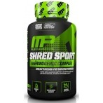 MusclePharm Shred Sport Tauku Dedzinātāji Svara Kontrole