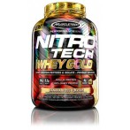 MuscleTech Nitro Tech 100% Whey Gold Proteins