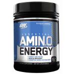 Optimum Nutrition Amino Energy BCAA Aminoskābju Maisījumi Kofeīns Aminoskābes Treniņa Laikā