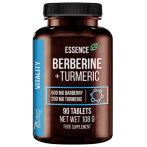 Essence Nutrition Berberine 500 mg + Turmeric 200 mg