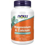 Now Foods Magnesium & Calcium