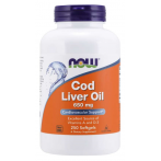 Now Foods Cod Liver Oil 650 mg