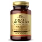 Solgar Folate 1,333 mcg DFE Metafolin 800 mcg